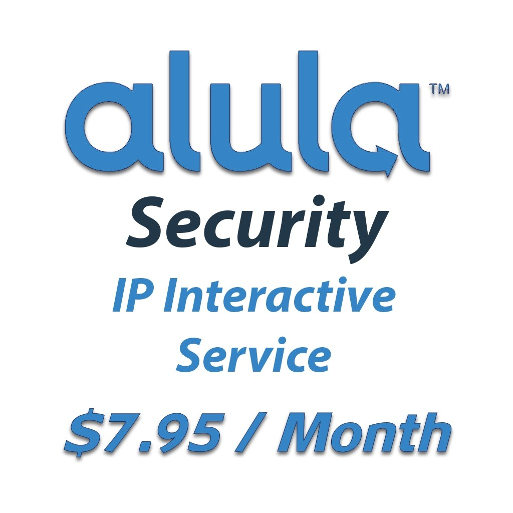 Alula Security IP Interactive Service: $7.95 a month, billed annually