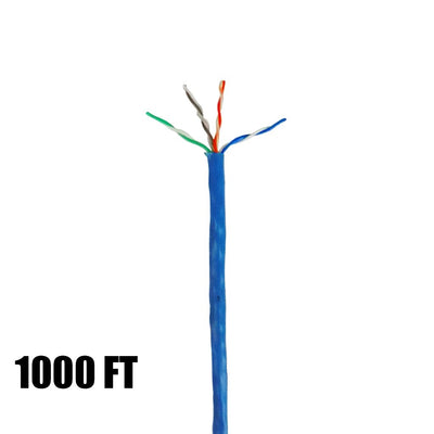 Cat 5E data cable 1000 ft box SIG-96263-46-06 (blue)