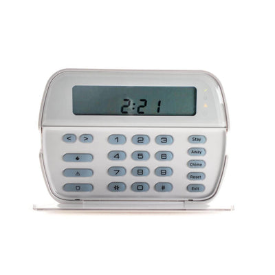 DSC PK5501ENG Sixty-four Zone Fixed LCD Keypad