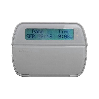 DSC RFK5500ENG Sixty-four Zone Programmable LCD Keypad With Built In Wireless Receiver