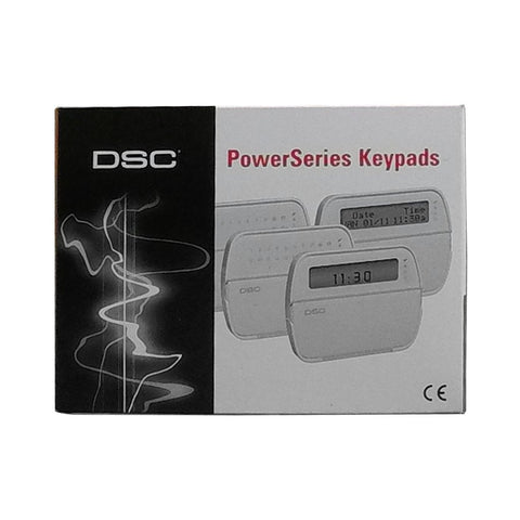 DSC RFK5564 Sixty-Four Zone Programmable LCD Keypad With Built In Wireless Receiver