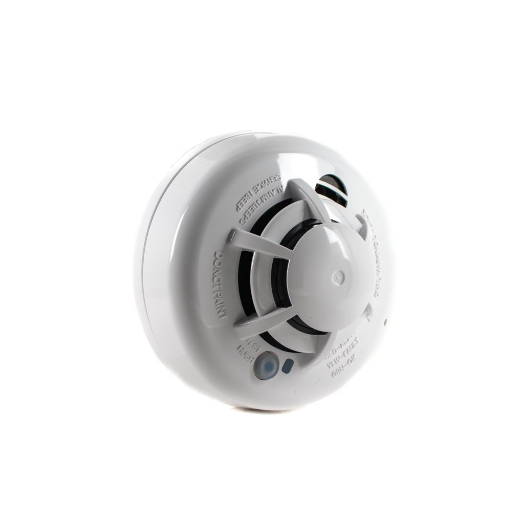 DSC WS4936 Wireless Photoelectric Smoke and Heat Detector