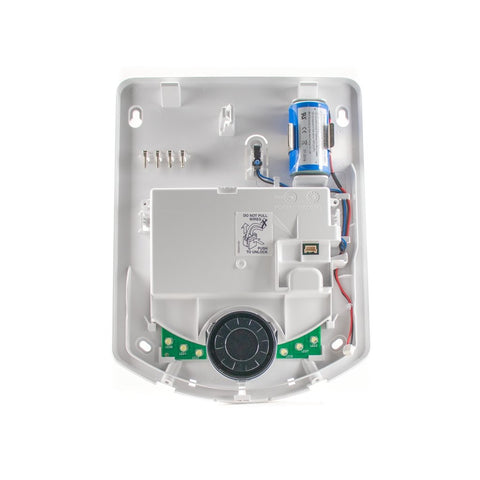 DSC-WT4911B 2-Way Wireless Outdoor Siren With Blue Strobe and Temp Sensor