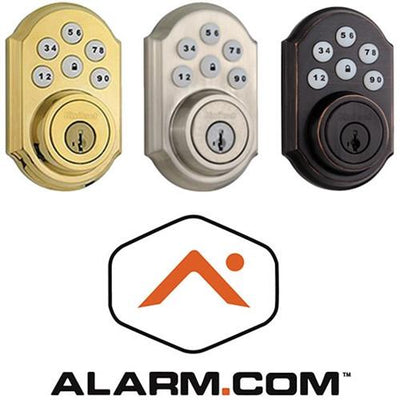 Kwikset 910 Z-Wave Plus SmartCode Deadbolt with Home Connect