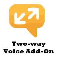 Two way voice alarm monitoring service add on (one year)