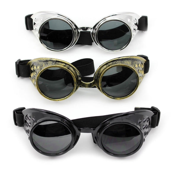 Fashion Cool Punk Style Motorcycle Riding Cycling Windproof Glasses Goggles - Soromade Cycles