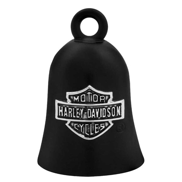 Harley-Davidson Bar & Shield Logo Motorcycle Ride Bell, Black HRB059 (Size: One Size, Color: Black) - Soromade Harley Davidson parts