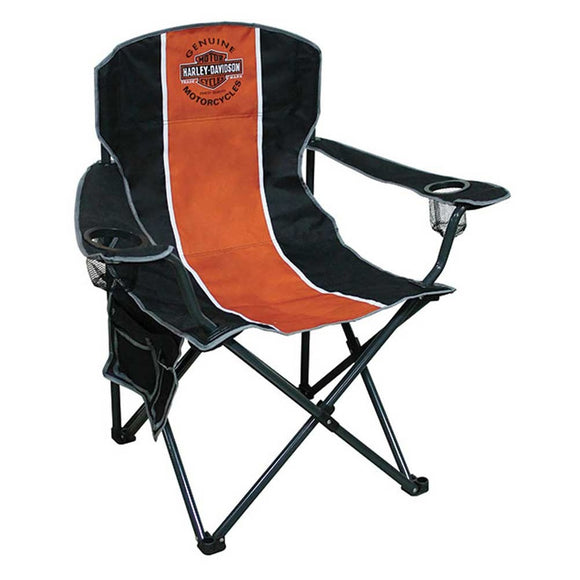 Harley-Davidson Compact Chair, X-Large Size w/ Carry Bag CH31264 - Soromade Harley Davidson parts