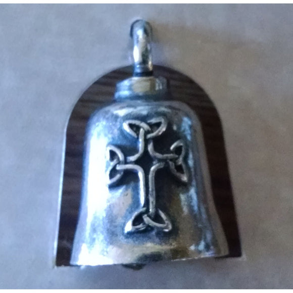 Celtic Cross Motorcycle Guardian Angel Harley Good Luck Gremlin Bell Made in USA - Soromade Harley Davidson parts