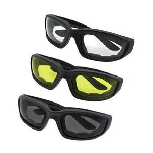 Motorcycle Riding Glasses Smoke Clear Yellow, Padded, Comfortable - Soromade Harley Davidson parts