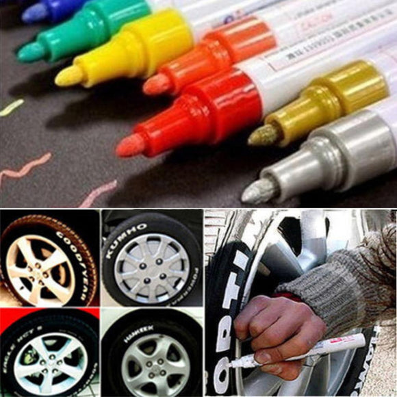 Universal Bickcle Motorcycle Car Tyre Tread  Waterproof Paint Marker Pen Permanent - Soromade Harley Davidson parts