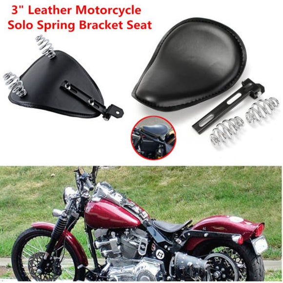 Modified Spring Leather Cushion for Harley-Davidson Cruising Motorcycle - Soromade Harley Davidson parts