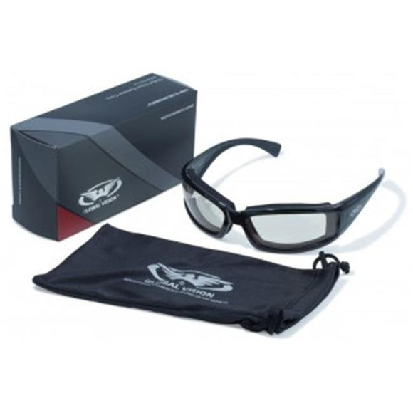 Transition Stray Cat 24 Sunglasses With Clear Anti-Fog Photo Chromic Lens - Soromade Harley Davidson parts