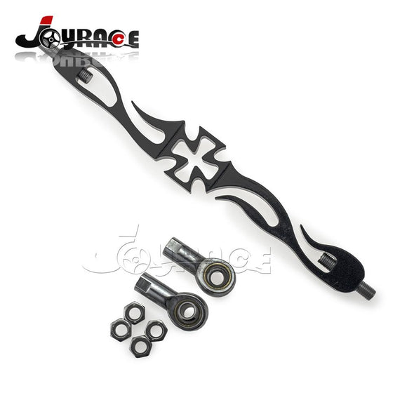 Cross Flame Style 9 Inch Motorcycle Shift Lever Linkage for Harley Davidson FLHR FLT FLHT - Soromade Harley Davidson parts