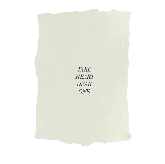 take heart dear one art print