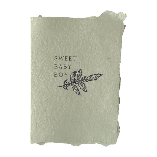 sweet baby boy card