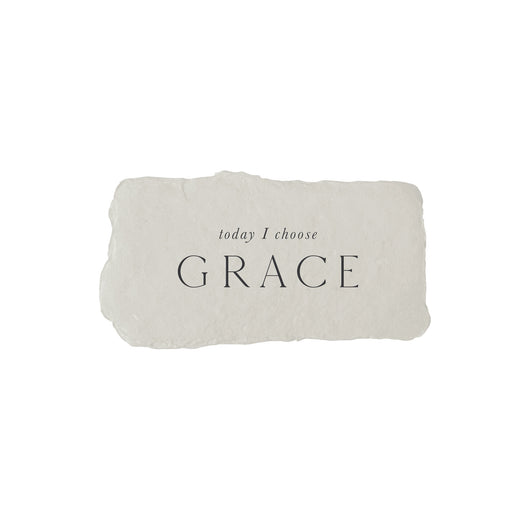 today I choose grace intention card