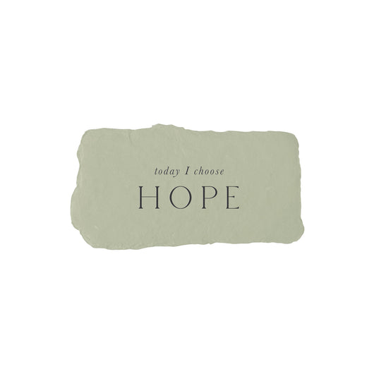 today I choose hope intention card