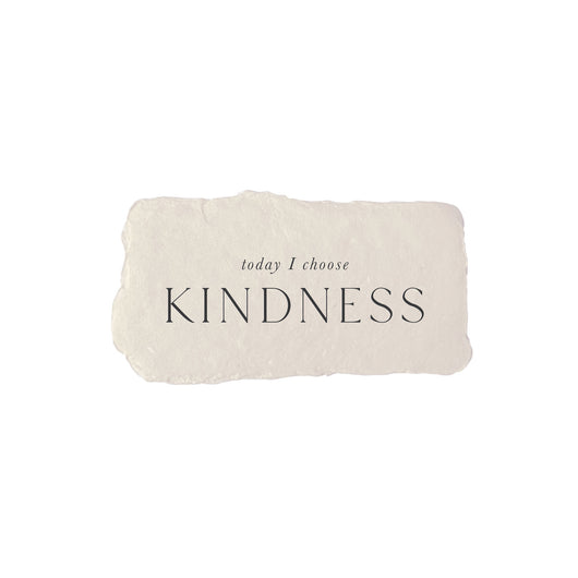 today I choose kindness intention card