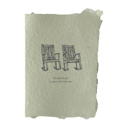 grow old with you card