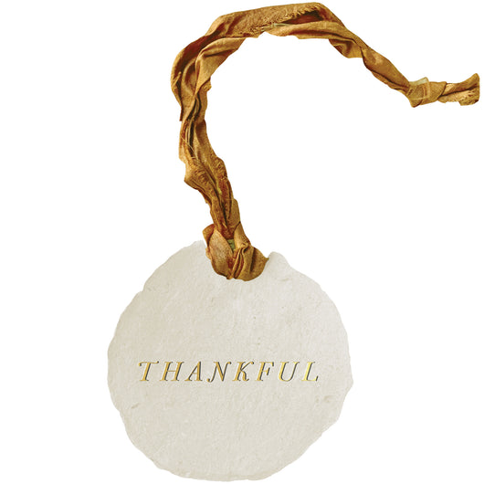 thankful ornaments / gift tags