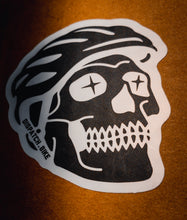 Load image into Gallery viewer, Skalli Rider - Skull Cycling Sticker