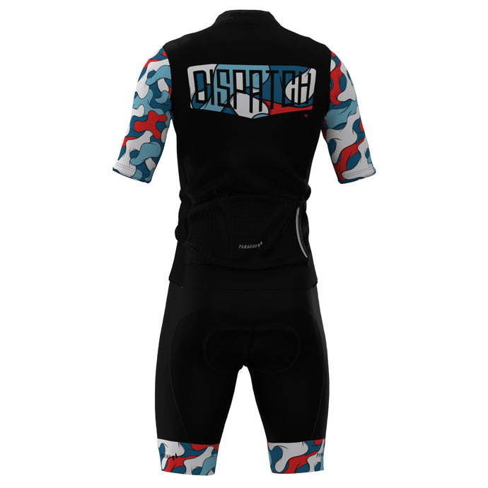 Dispatch Spring 2020 Seuss Camo Logo Bib Shorts
