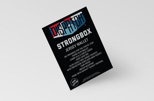 Strongbox Jersey Wallet - Super Thin Tyvek Wallet