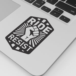 Ride Resist Sticker