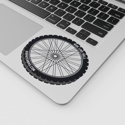RIDE LIKE HELL - Bicycle Wheel Sticker