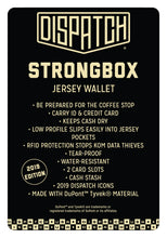 Load image into Gallery viewer, Strongbox Jersey Wallet
