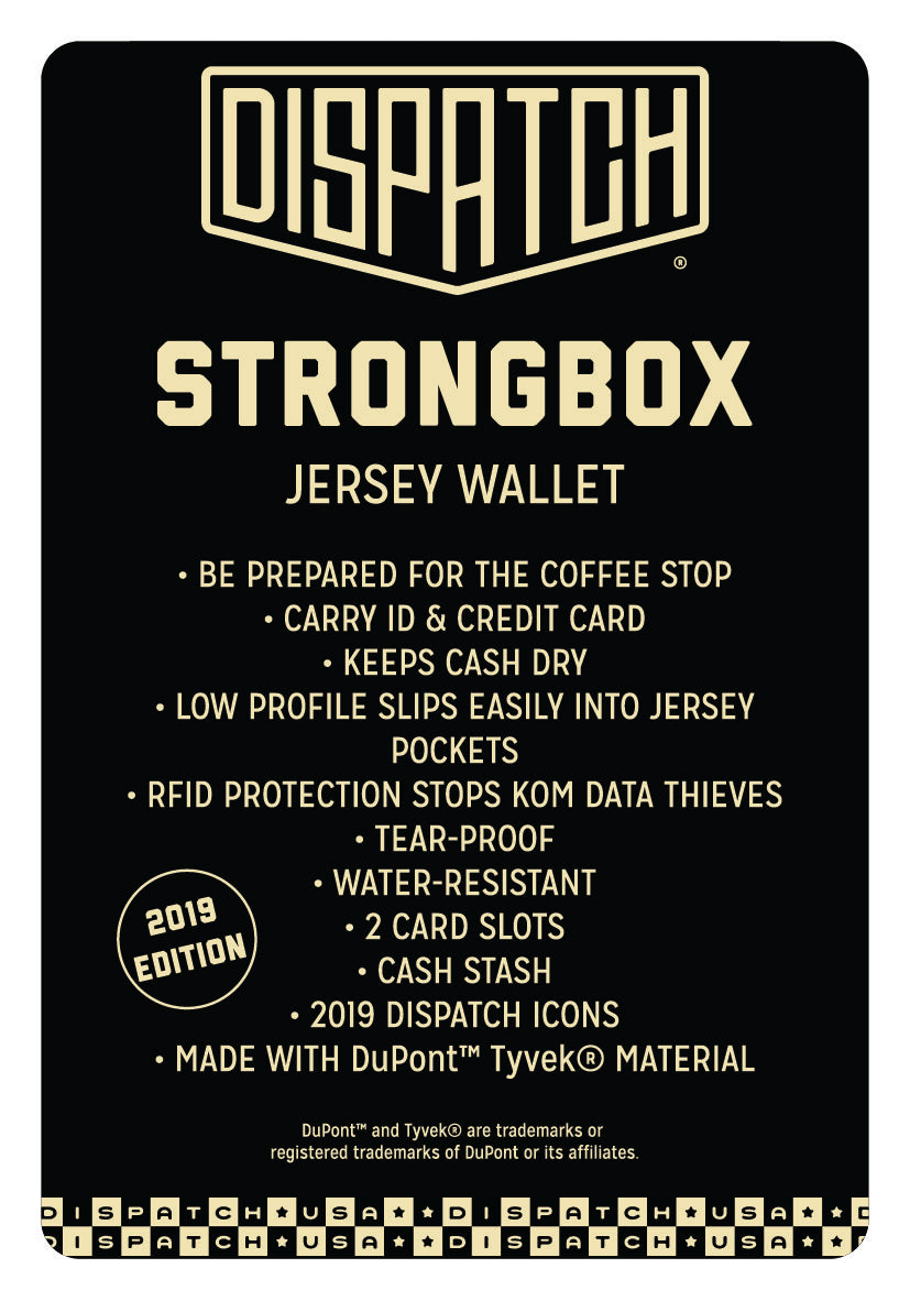 Strongbox Jersey Wallet