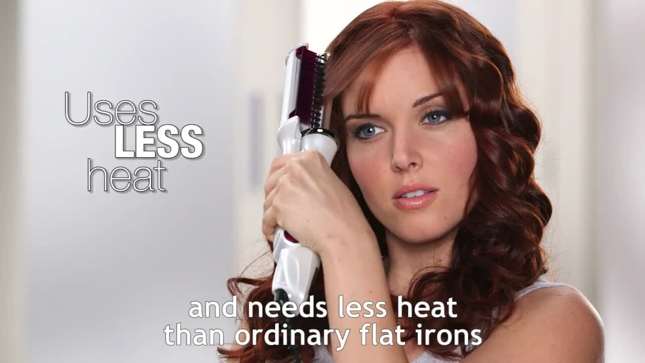 HairStyler® Wet to Dry Rotating Styling Iron360°