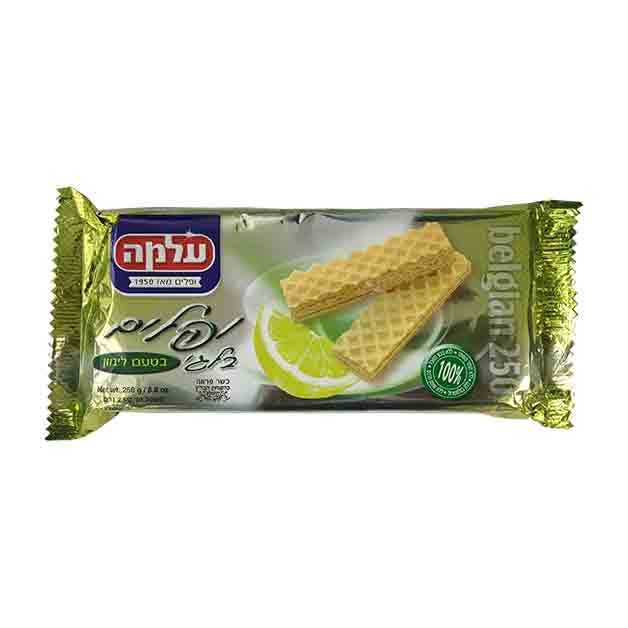 Alma -Belgian Wafers Lemon Flavor