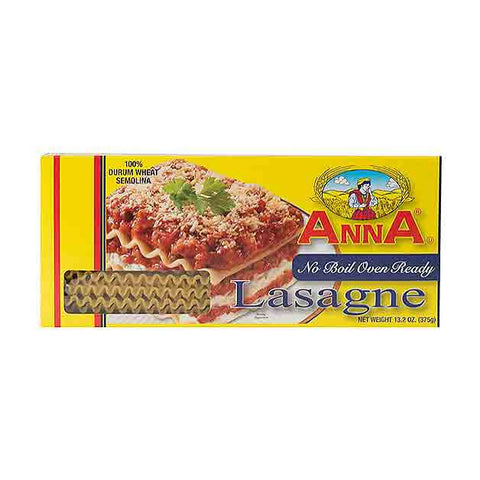 Anna - No Boil Oven Ready Lasagne, 13.2 Ounce Box