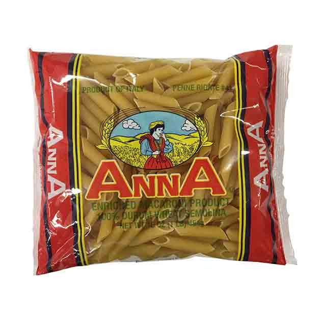 Anna - Whole Grain Italian Penne Rigate Pasta No. 41