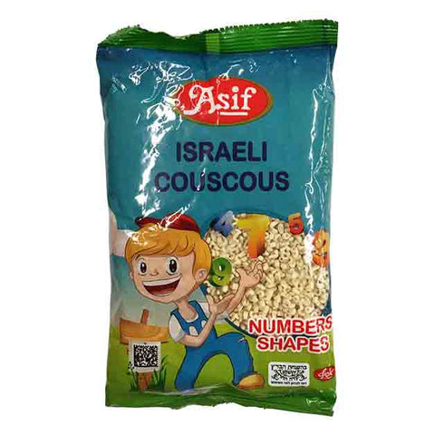 Asif - Israeli Couscous, Numbers Shapes for Kids