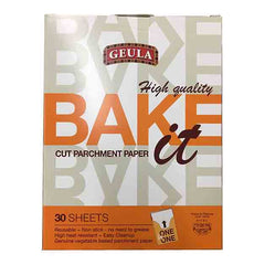 Geula - Bake it Parchment Paper High Quality 30 Sheets