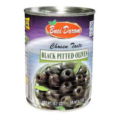 Bnei Darom - Black Pitted Olives