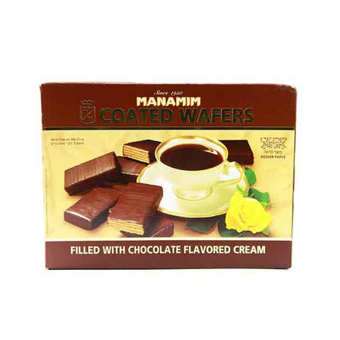 Manamim - Chocolate Coated Wafer  (Kosher) 14. 1Oz