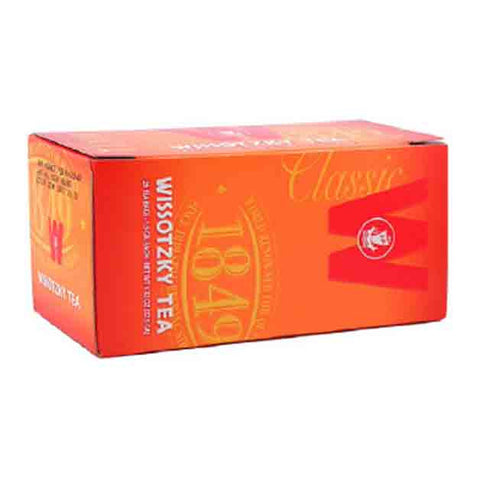 Wissotzky Tea Classic Tea - / Box of 25 bags