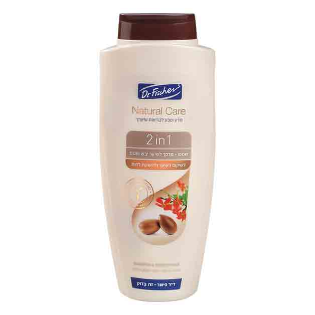 Dr Fischer - Neo Natural 2 in 1 For Dry and Damaged Hair / Henna & Aragan Oil