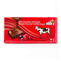 Elite Milk Chocolate Filled With Berry Flavored Truffle Cream