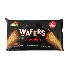 Elite - Chocolate Wafers, 10.6 Ounce (Megadim)