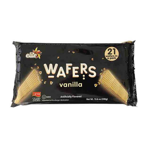 Elite - Vanilla Wafers, 10.6 Ounce (Megadim)