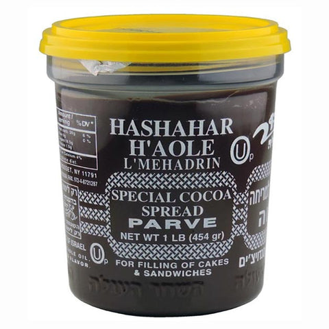 Hashachar Ha'ole Parve Chocolate Spread, 16-Ounce