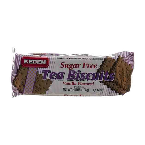 Kedem - Sugar Free Tea Biscuits Vanilla Flavored