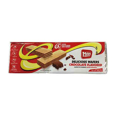 Man - Chocolate Flavored Wafers