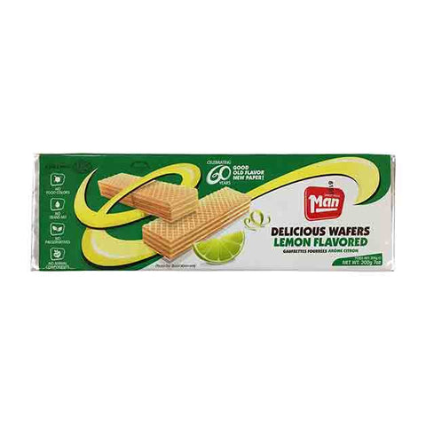 Man - Lemon Flavored Wafers