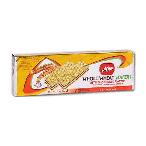Man - Whole Wheat Chocolate Flavored Wafers